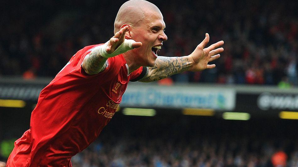 Liverpools Skrtel: Torjubel nach Treffer zum 2:0