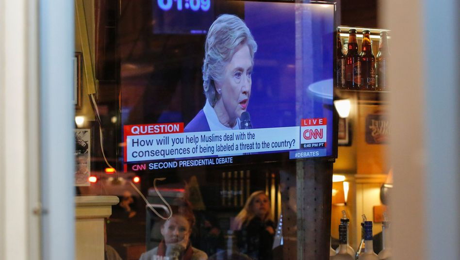 Ausstrahlung der TV-Debatte