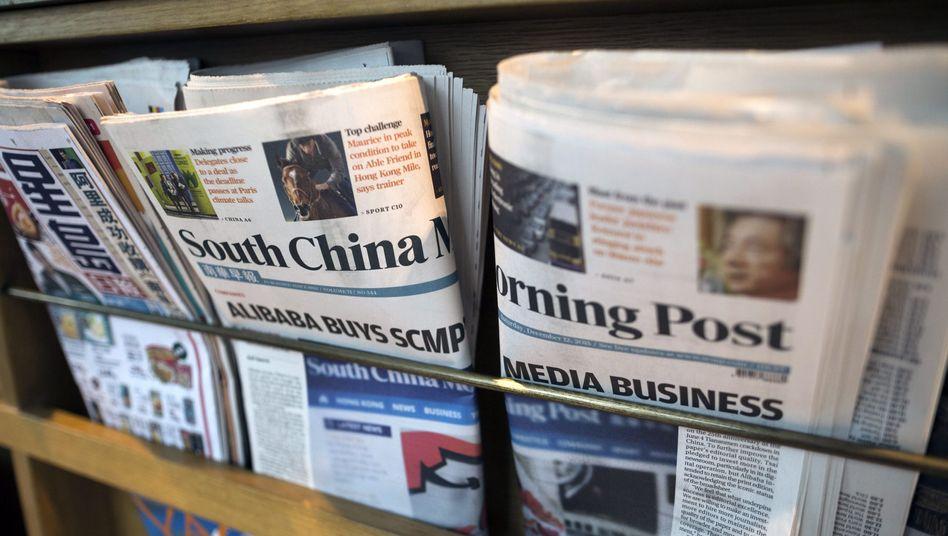 """""""South China Morning Post""""-Ausgaben: Seismograf der Pressefreiheit"""