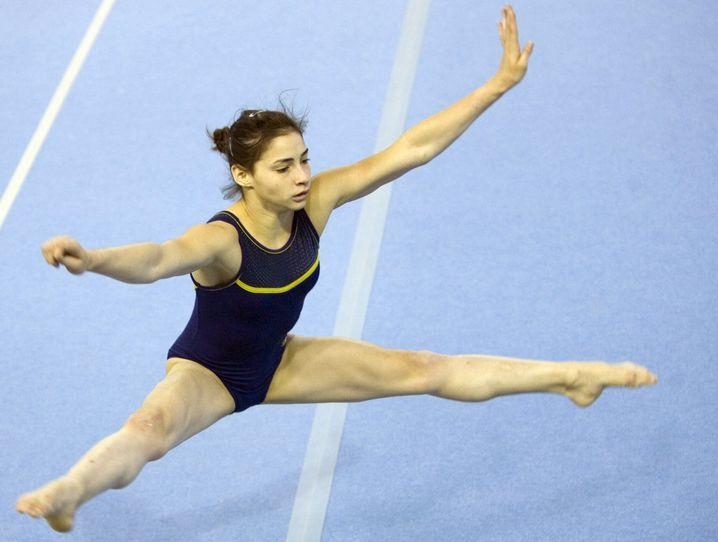 Turnerin Souza: 2004 und 2008 Teilnehmerin an Olympischen Sommerspielen