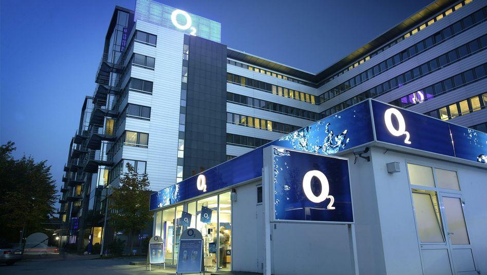 Firmenzentrale von Telefónica-O2 in München: Kein Handel mit deutschen Standortdaten