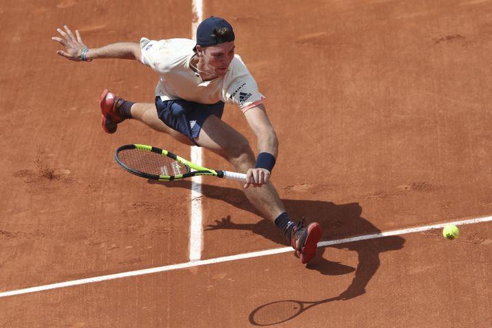Maximilian Marterer bei den French Open
