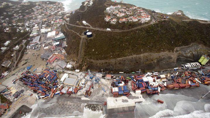"""Hurrikan """"Irma"""": Sint Maarten nach dem Sturm"""