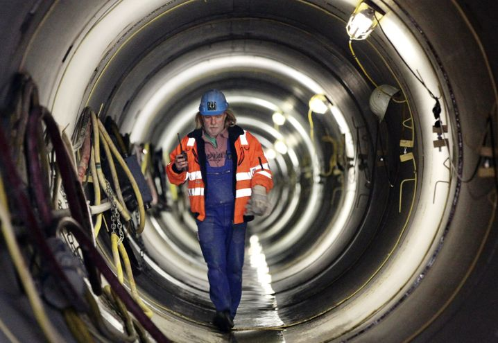 Einstieg der Nordeuropäischen Erdgasleitung bei Lubmin