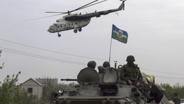 Gefechte in der Ostukraine: Kampf um Slowjansk