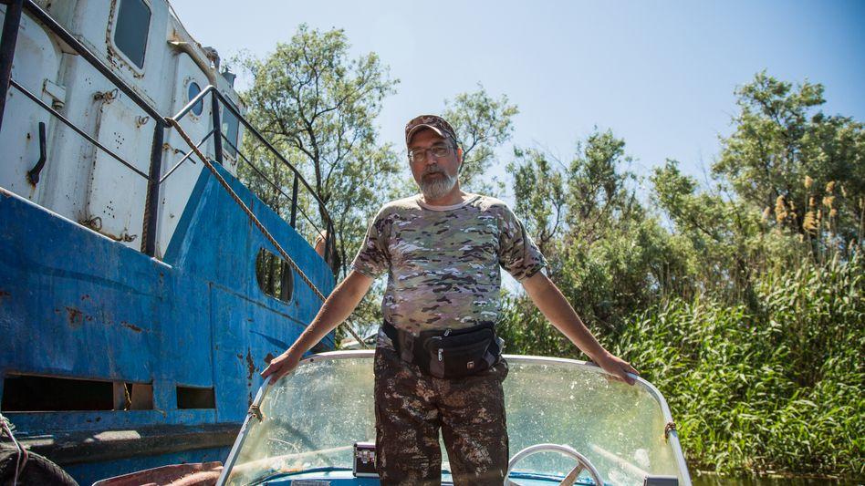Sergej Jakowlew wurde an der Wolga geboren. Der Fluss ist sein Leben – und er tut alles dafür, dass die Wasserqualität steigt. Die WM in Wolgograd hat ihm dabei geholfen.