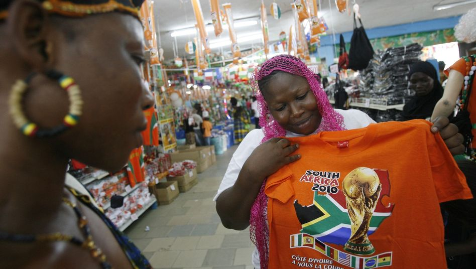 South Africa's stores are stocked with World Cup paraphernalia and the euphoria can be felt in major cities. But leaders in Pretoria are nervous about the biggest event in the country since the end of apartheid.
