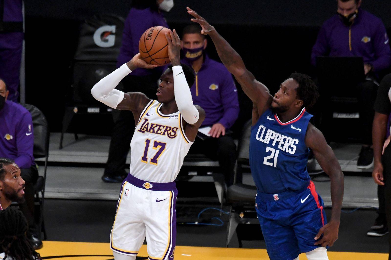 Sport Themen der Woche KW50 Sport Bilder des Tages December 11, 2020, Los Angeles, California, USA: The Lakers Dennis Sc