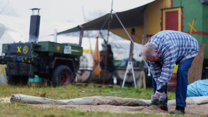 Wendland vor dem Castor: Wütende Bürger, wachsame Beamte
