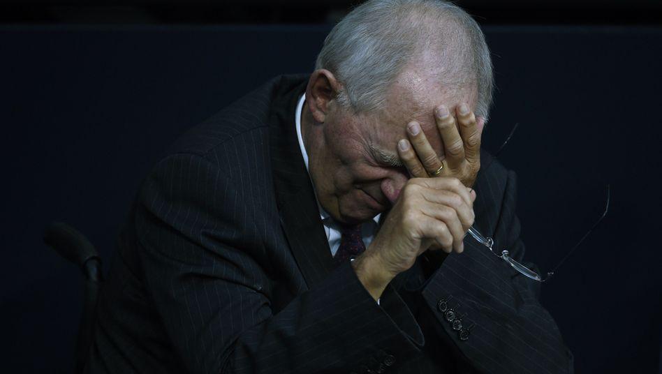 Finanzminister Schäuble: Neuordnung der Bund-Länder-Finanzen