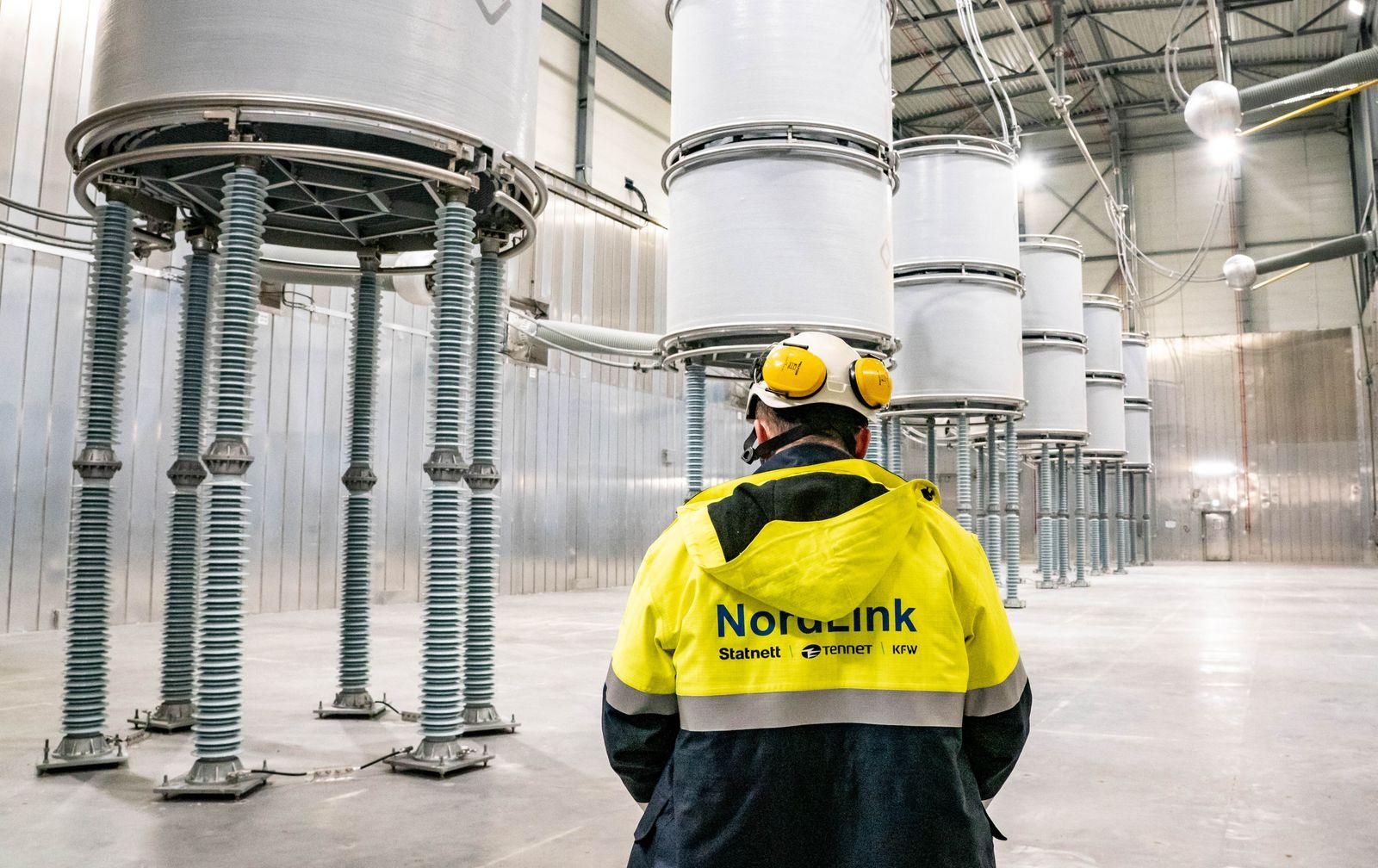 Nordlink-Stromleitung zwischen Norwegen und Deutschland