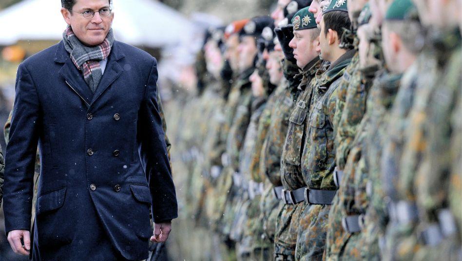 Verteidigungsminister Guttenberg (CSU): Brigadegeneral Hars in den Ruhestand versetzt