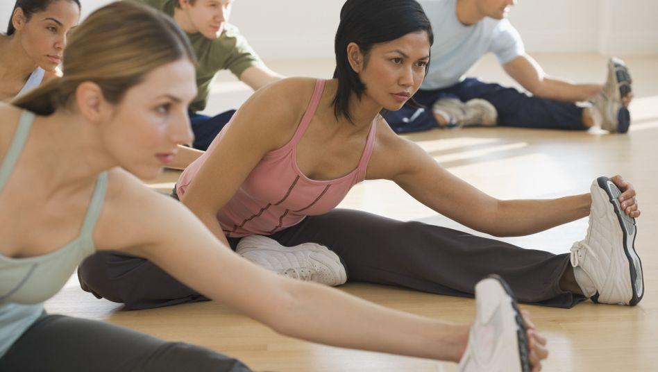 Stretching: Die Muskeln richtig lang machen