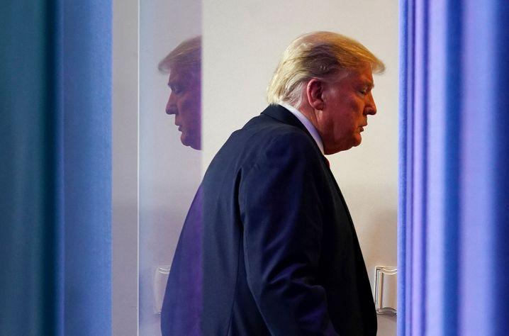 Ex-US-Präsident Trump: »Es wird als eine der größten Niederlagen in die amerikanische Geschichte eingehen«