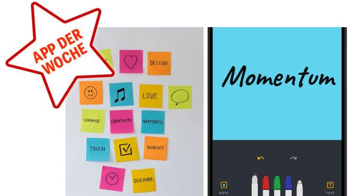 App der Woche KW30 postit