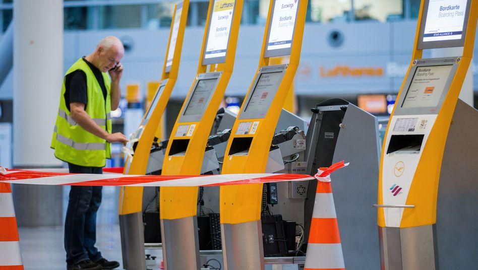Streik in Düsseldorf: Die Lufthansa-Flotte an drei Standorten ist betroffen