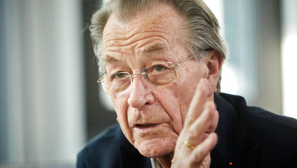 """Der frühere SPD-Vorsitzende Franz Müntefering: """"Man muss sich zur Autorität bekennen"""""""