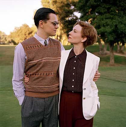 Liebespaar Hughes, Hepburn (L. DiCaprio und Cate Blanchett): Wenig Interesse an Romanzen