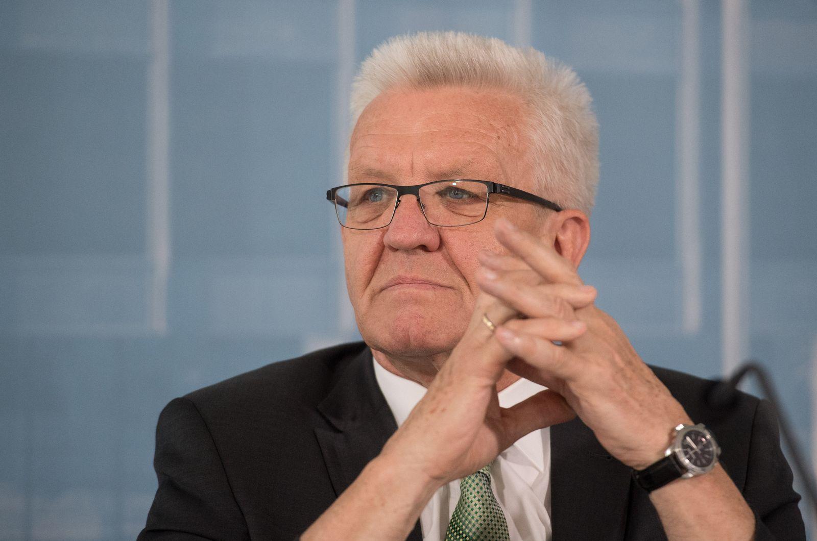 Regierungs-Pk Winfried Kretschmann