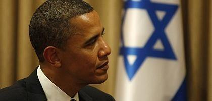 Präsident Obama: Tabubruch gegenüber Israel