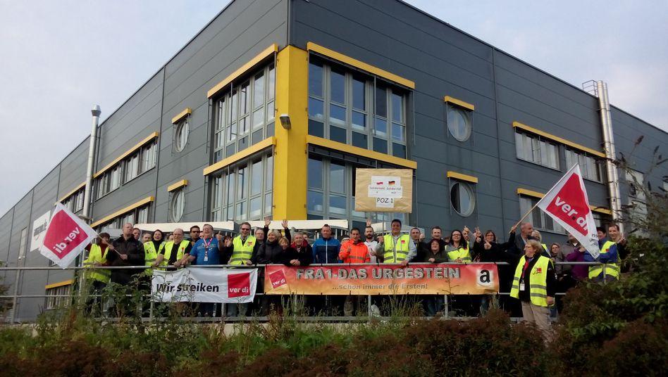 Amazon-Standort Bad Hersfeld: Streik bis Samstagabend