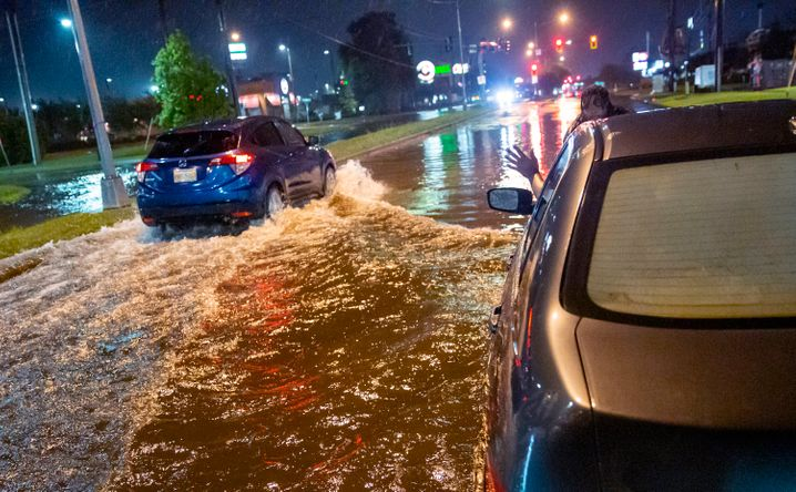 Sturmtief »Claudette« bringt starke Regenfälle nach Alabama. Sie könnten mitverantwortlich für einen Unfall mit mehr als 15 Fahrzeugen sein (Symbolfoto)