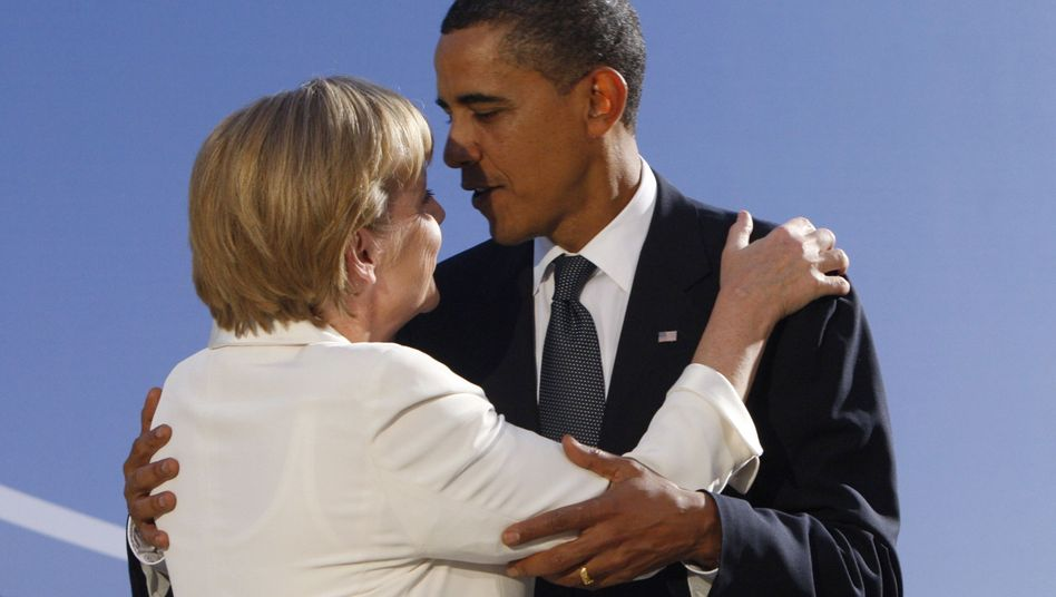 Kanzlerin Merkel, Präsident Obama (Archivbild): Krise war gestern