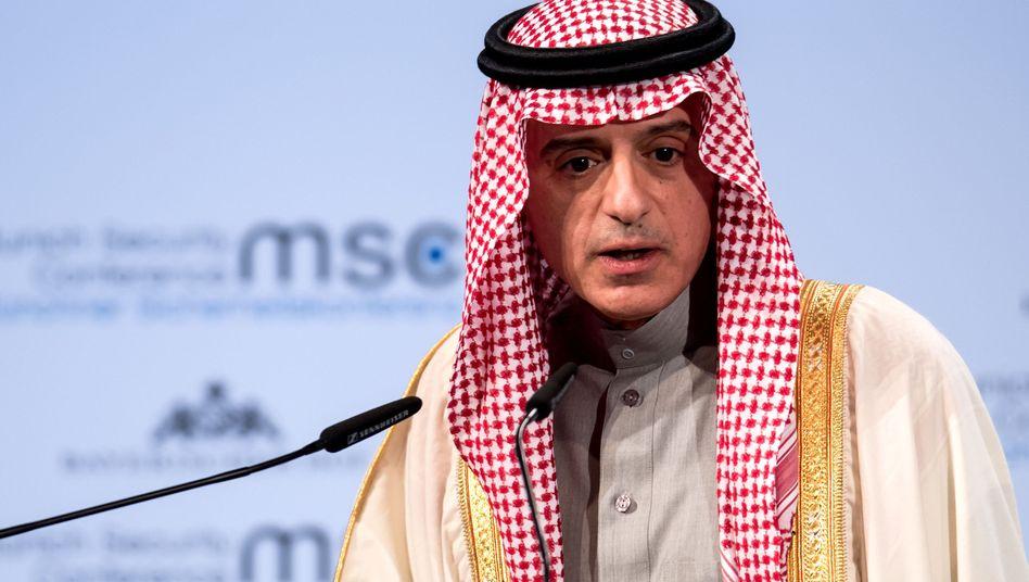 Saudi-arabischer Außenminister Adel al-Jubeir