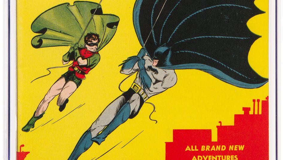 Je älter, desto wertvoller: Comicheft »Batman#1«