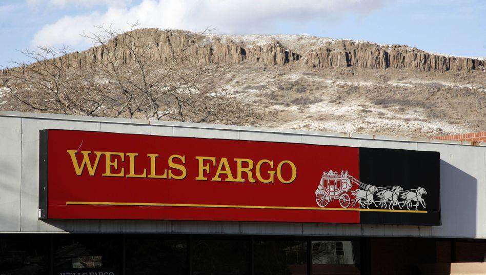 Logo von Wells Fargo in Colorado: Ärger wegen Immobilienkrediten