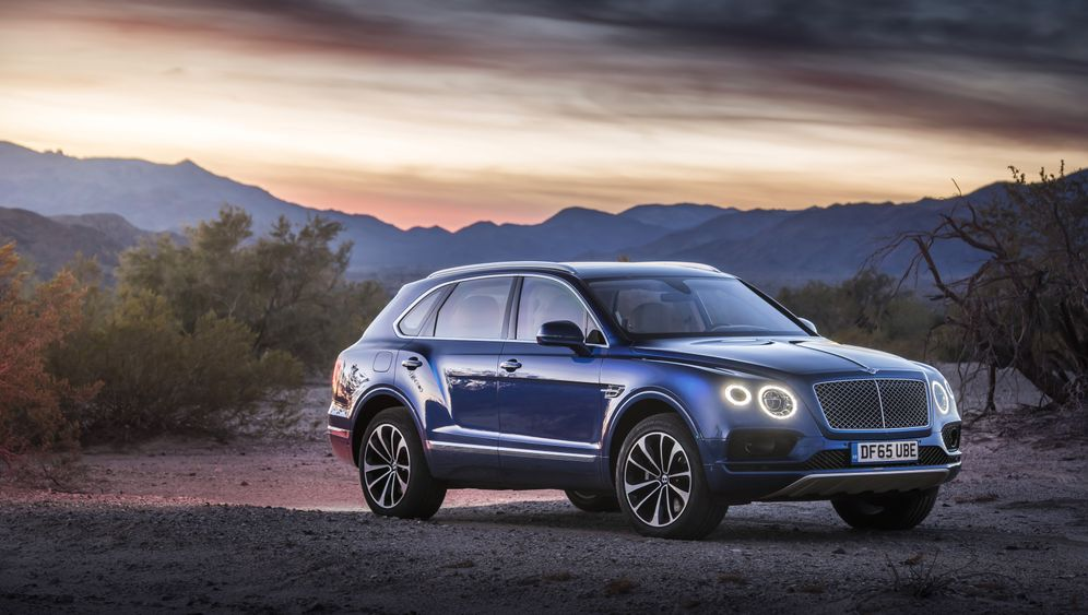 Autogramm Bentley Bentayga: Der PS-Palast