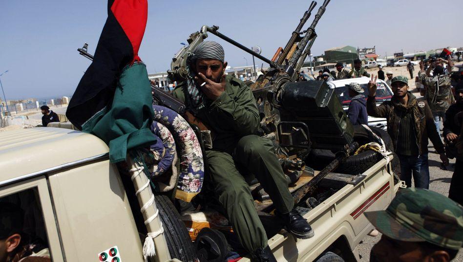 Rebellen in Libyen: Erstaunlich schneller Aufmarsch