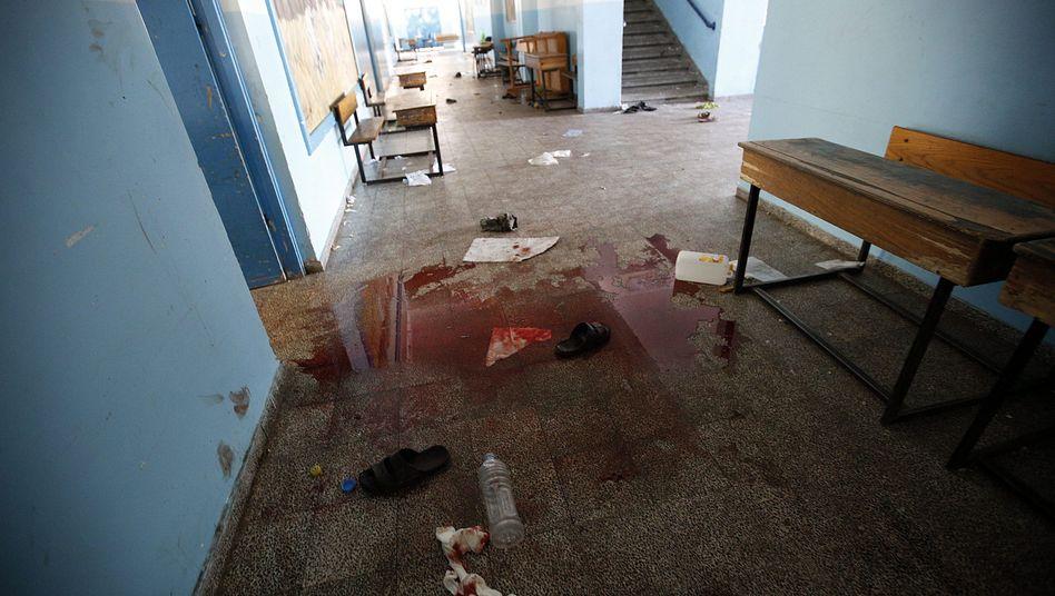 Gaza-Krieg: Israelische Raketen tötenFlüchtlinge in Uno-Schule