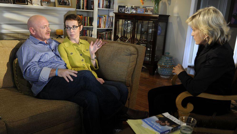 US-Abgeordnete Giffords: Wie Gabby Giffords das Leben zurückeroberte