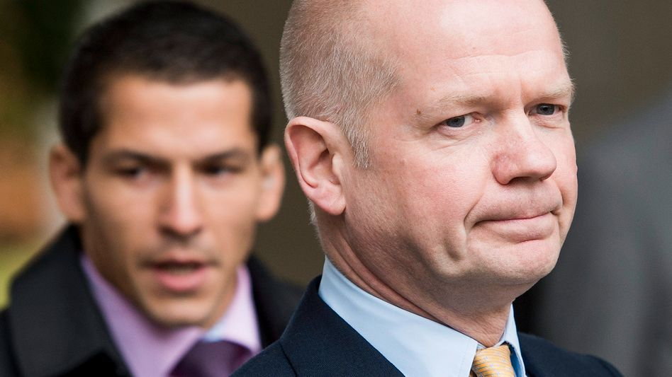 """Britischer Außenminister Hague: """"Gespräche sind nicht abgeschlossen"""""""