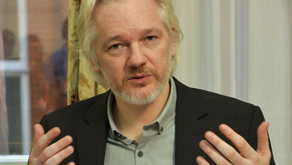 """WikiLeaks-Sprecher Julian Assange: """"Die USA versuchen, eine Festung zu bauen"""""""