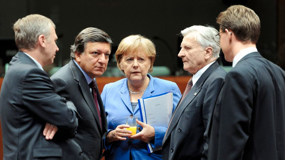 Schuldenkrise: Euro-Retter kämpfen gegen die Gipfel-Blamage