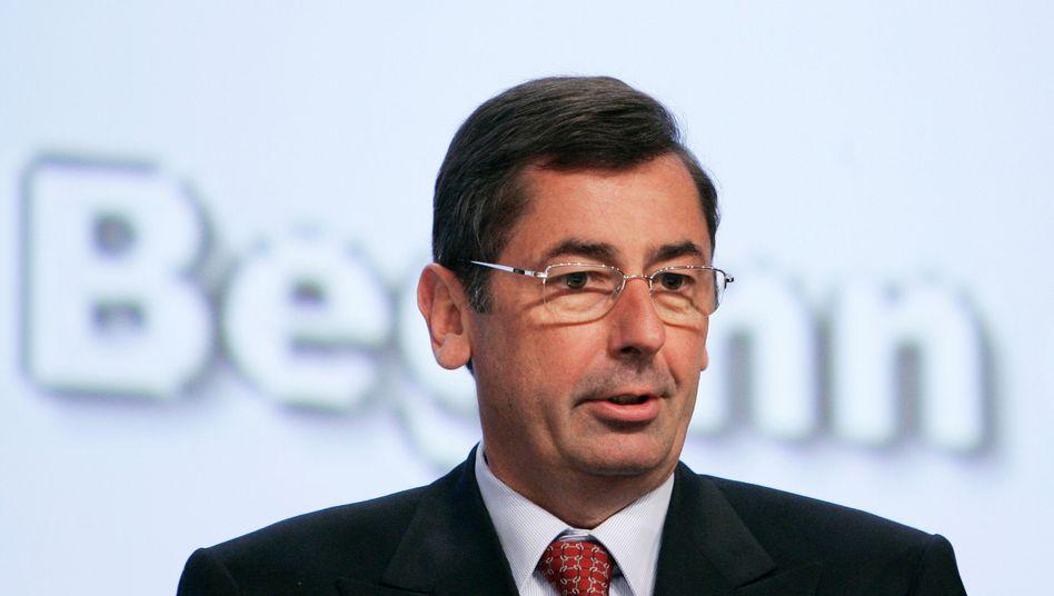 Georg Funke im Mai 2008: Jahrelange Ermittlungen
