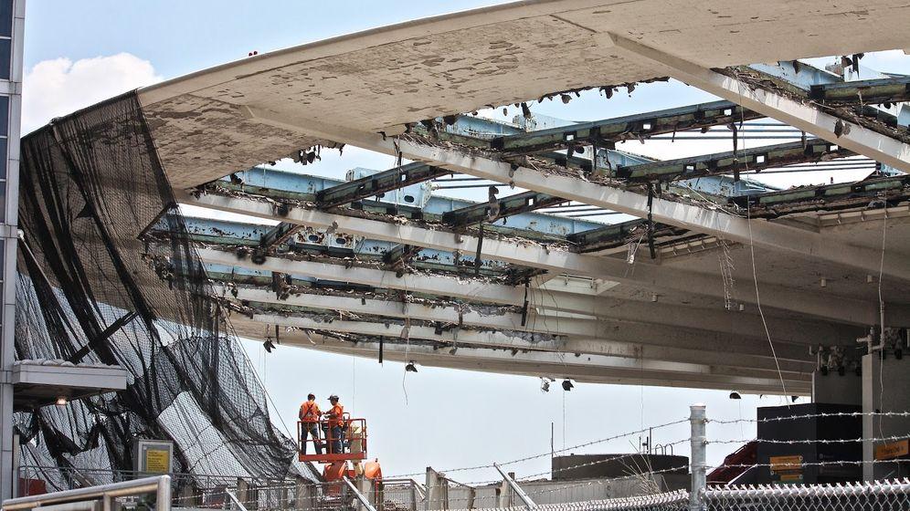 """PanAm-Terminal: Abriss der """"fliegenden Untertasse"""""""