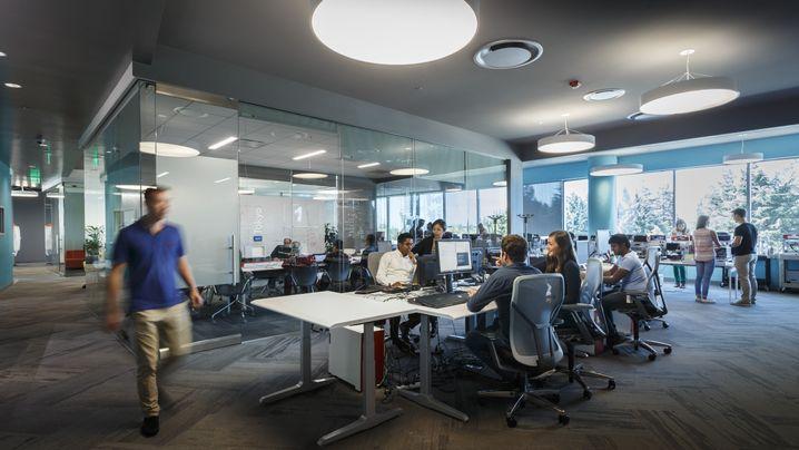 Büro im Silicon Valley
