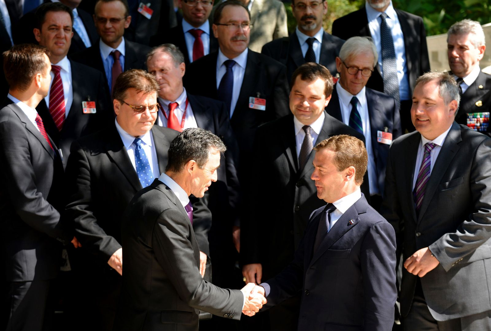Medwedew/ Nato-Gipfel