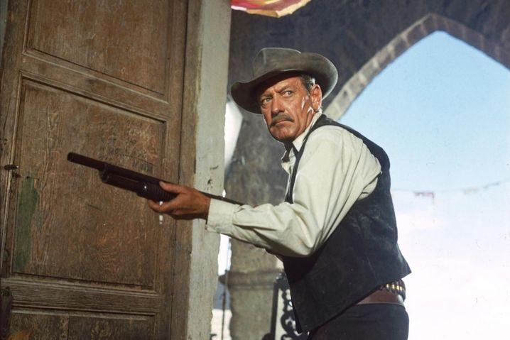 """William Holden in """"The Wild Bunch"""" von Sam Peckinpah"""