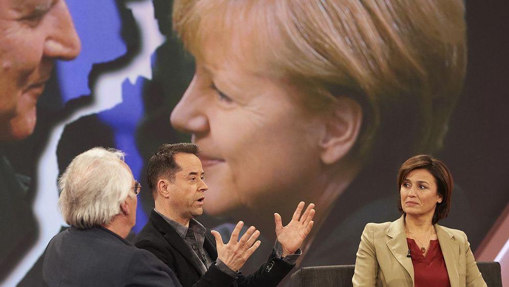 """""""Maischberger"""" zur Flüchtlingskrise: Kollisionen und Schwadronaden"""