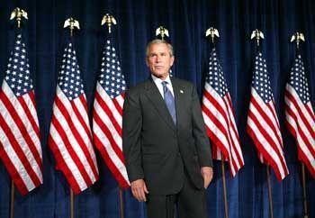 """Präsident George W. Bush: """"Sehr gut für Industrie und Nation"""""""