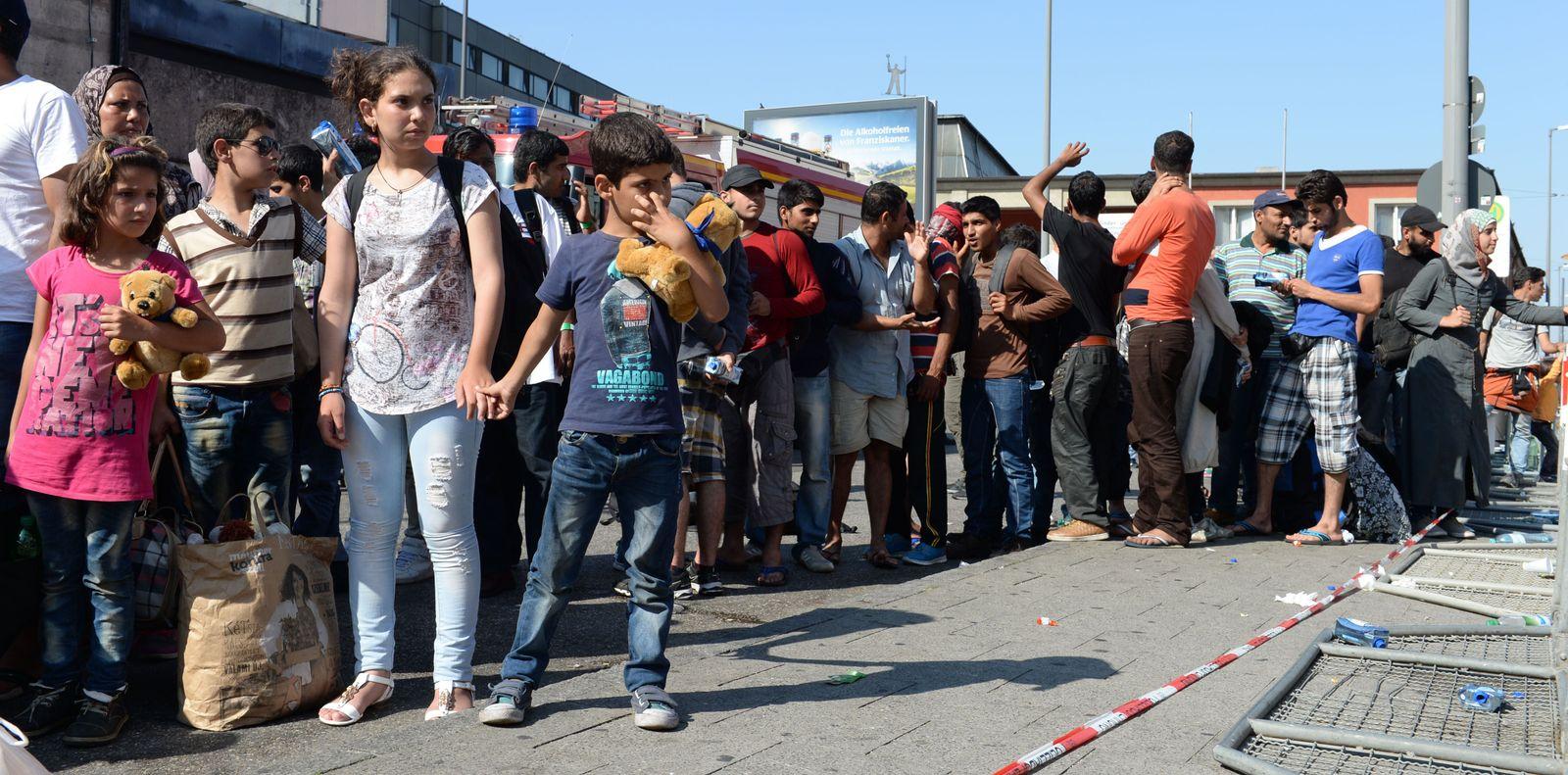 Deutschland/ München/ Flüchtlinge