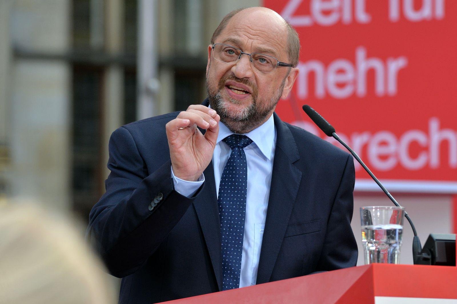 Schulz/ Wahlkampf