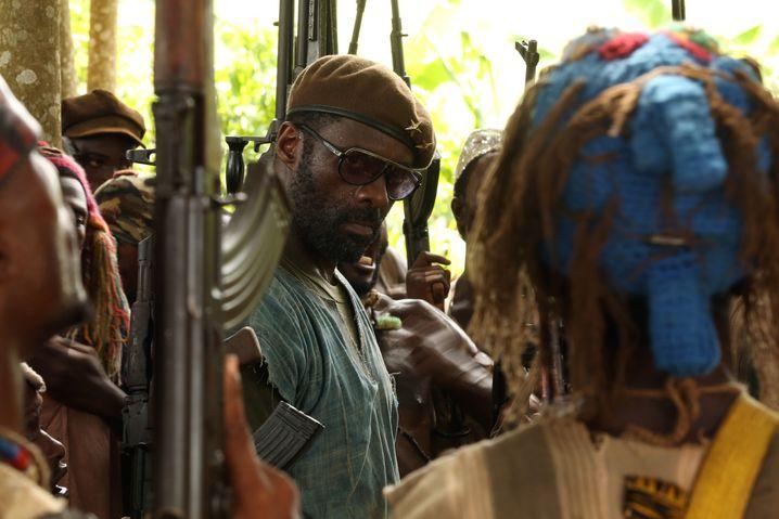 """Von den Oscars ignoriert: Idris Elba in """"Beasts of No Nation"""""""