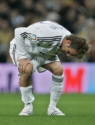 Verletzter Beckham: Pause gegen München