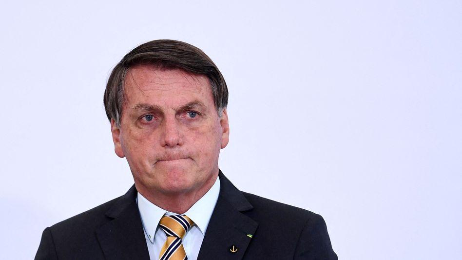 Jair Bolsonaro soll Korruptionsvorgänge verschwiegen haben