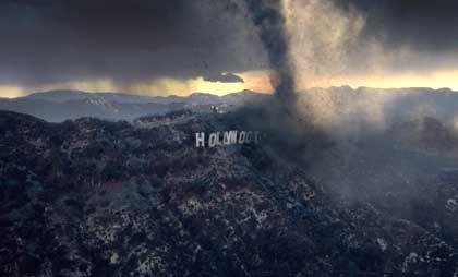 Katastrophenszenario: Wirbelstürme über Hollywood